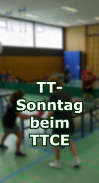 Tischtennis-Sonntag beim TTC Erichshof